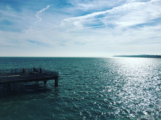 Sunshine on deal pier today! #deal #kent #seaside #pier