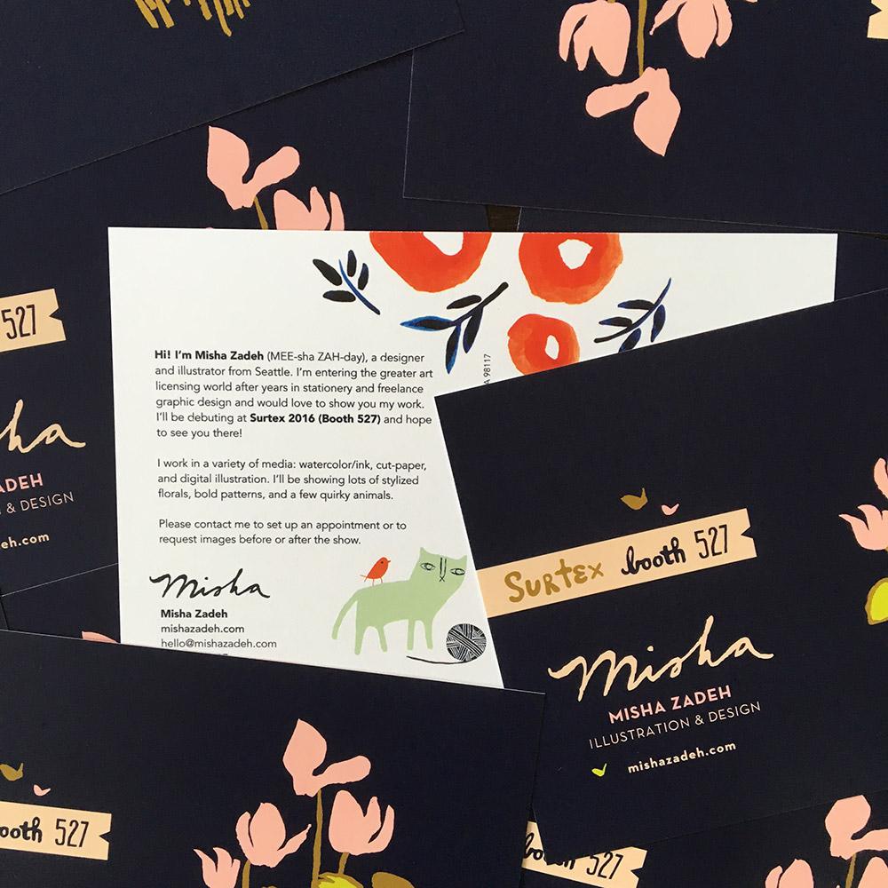 Misha Zadeh: SURTEX 2016: Pre-show Mailers