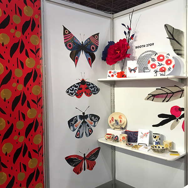 Misha Zadeh Surtex 2017, Entomology Series and housewares prototypes