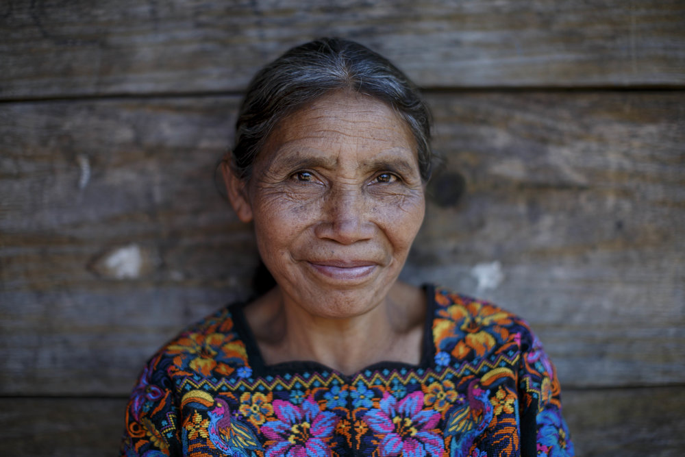Rosa Cabo, veteran midwife and health promoter in the community of Quisis, Quiché, Guatemala. Photo for World Health Organization.