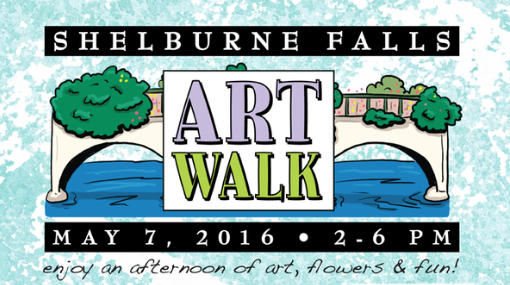 Come to Shelburne Falls this Saturday for an afternoon celebrating spring with art, music, hands on activities and yummy food.