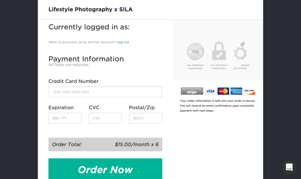 Online Course Payment Page - Illuminate.png
