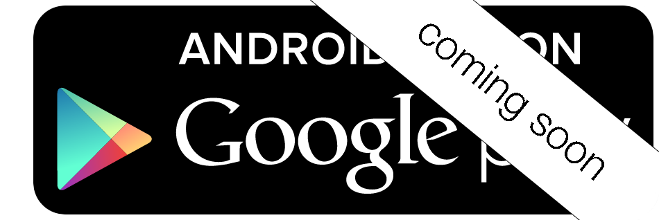 Click above button to sign up for our Android waitlist