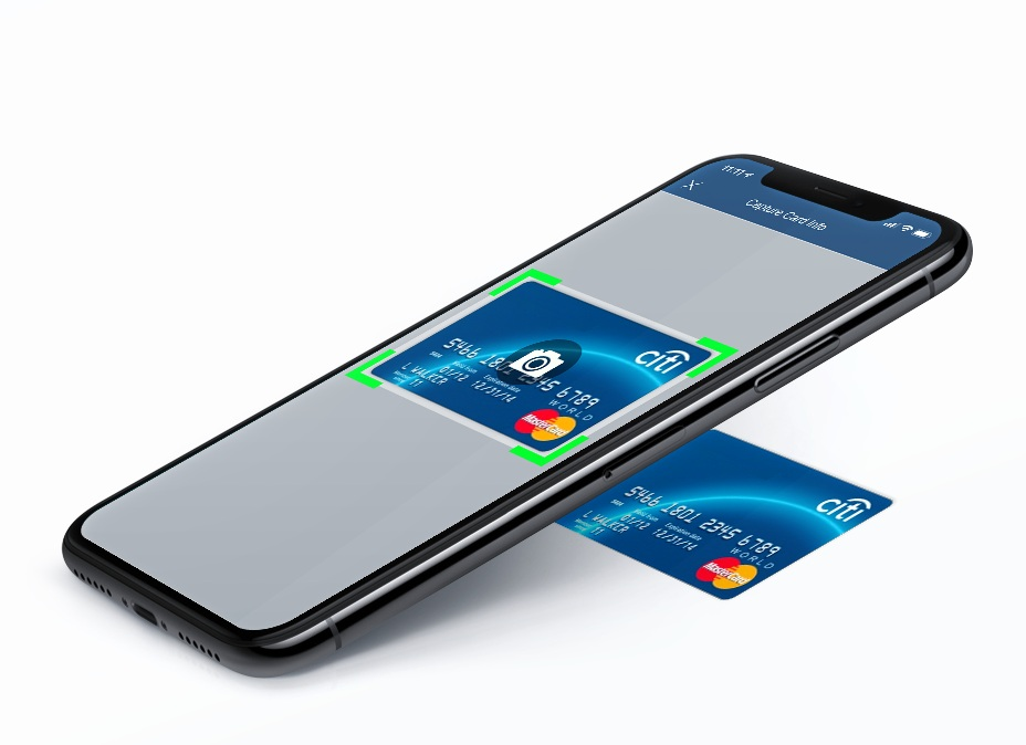 Simple Scan and Store Clients Payments - Simply scan or Manually enter card information. All forms of credit or debit (Visa,Amex,Mastercard). Same flat rate regardless.