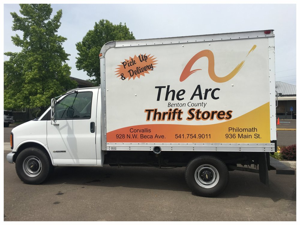 the arc thrift store in Corvallis