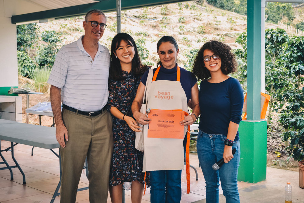 Graduation 2018 with Leida. Photo: Maria Fernanda Carrillo