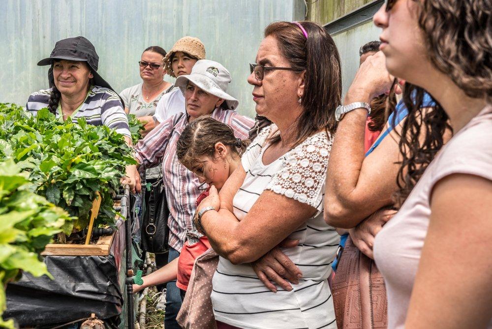 Group visit to CATIE. Photo: Marlies Gabriele Prinzl
