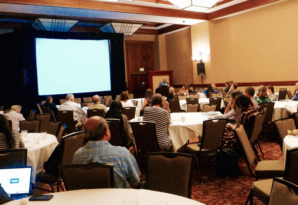 California Adaptation Forum discussion session on creating coalitions and accelerating adaptation through regional collaboration.