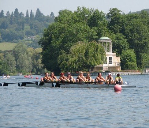 M  artha (Runkle) Jaworowski (OHS '04) VILLANOVA UNIVERSITY *pictured at the Henley, in 2 seat*