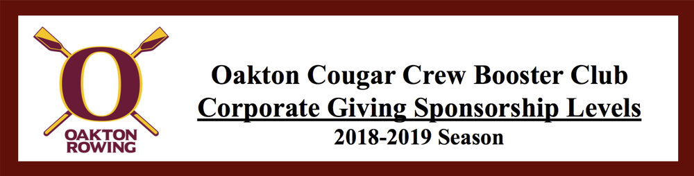 CLICK HERE FOR CORPORATE GIVING LEVELS & AWARDS