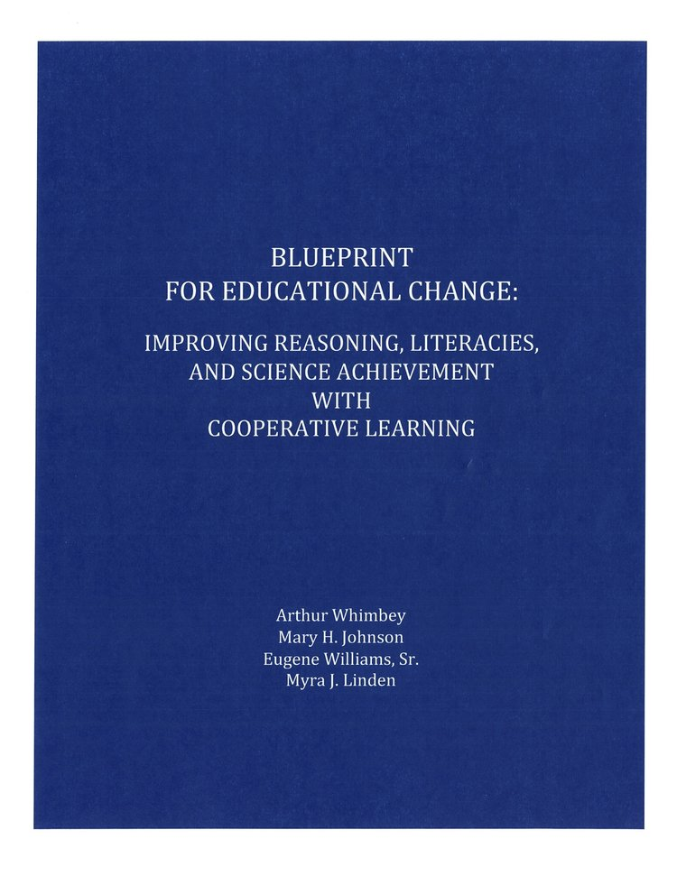 Blueprint for educational change improving reasoning literacies blueprint coverg malvernweather Images