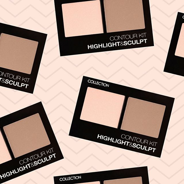 SCULPT ⚡️ Get glowing for the long weekend and sculpt out those cheekbones! Use our Contour Kit to add some bronze and glow to your cheeks, lids and jawline #COLLECTIONLove #COLLECTIONNZ