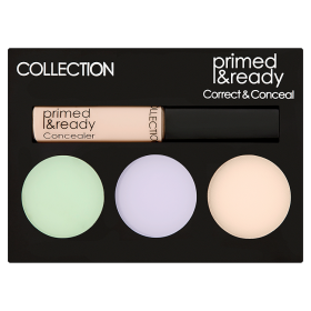 PRIMED & READY CORRECT & CONCEAL PALETTEInstant Colour Corrector -