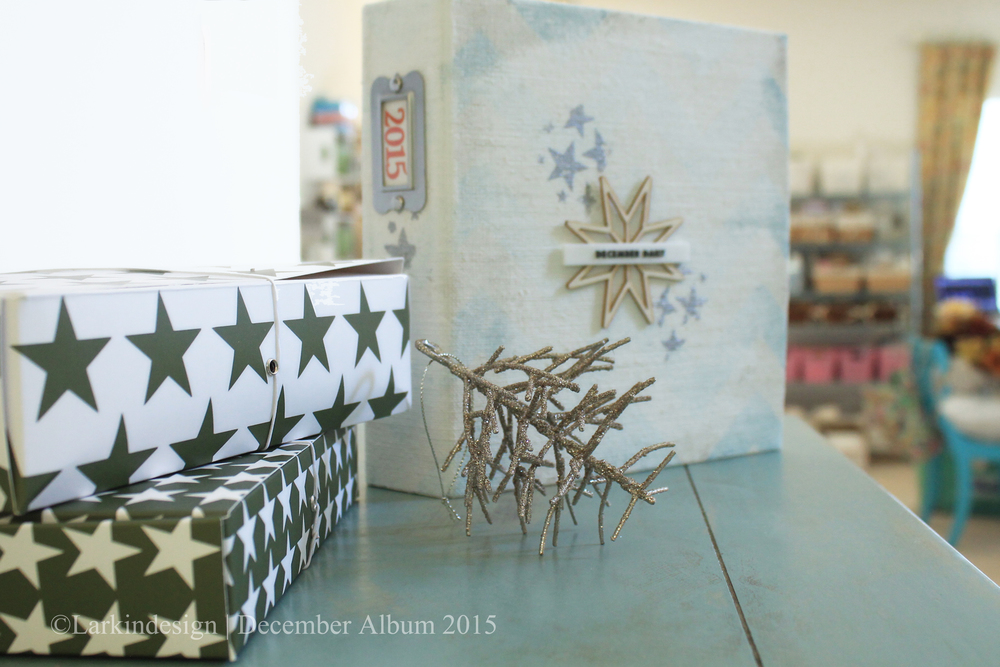December Album 2015 | Album cover plus kits from Ali Edwards and One Little Bird