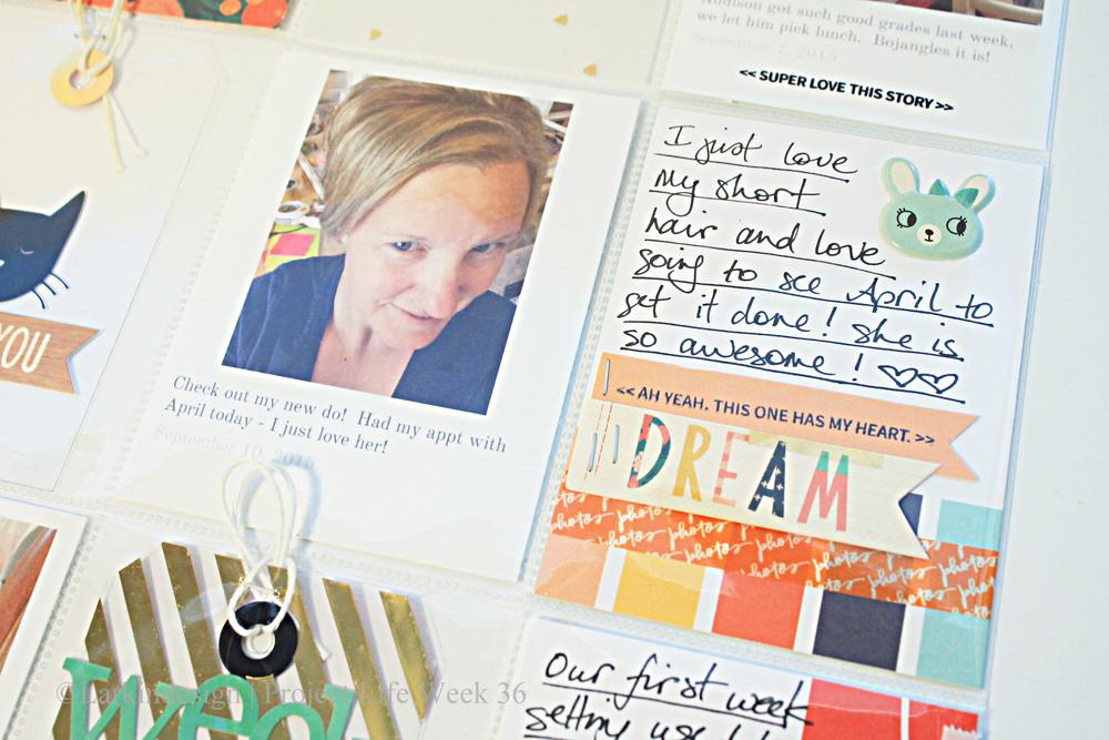 Dream journaling card