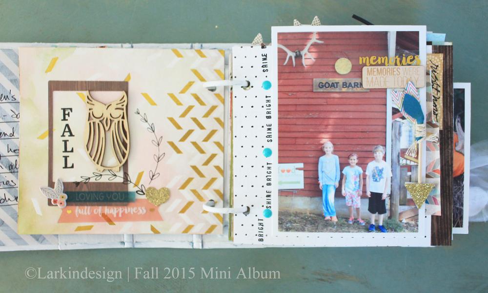 Fall Mini Album Page 2