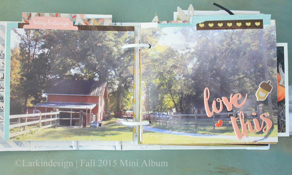 Fall Mini Album Page 3
