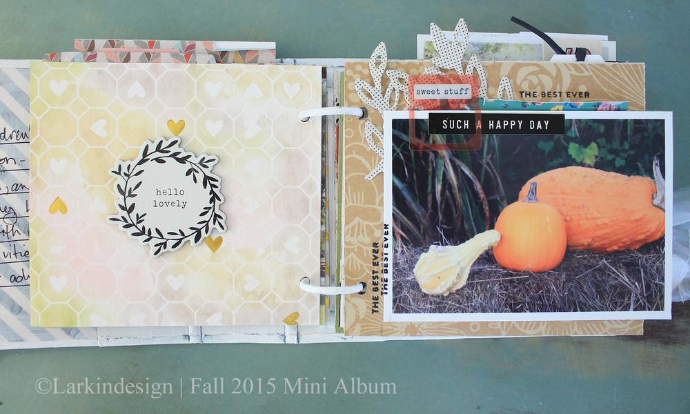 Fall Mini Album Page 4