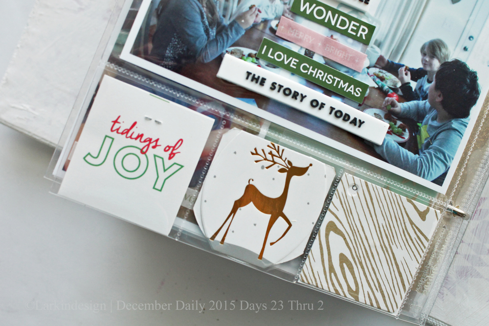 December Daily 2015 Days 23 thru 25
