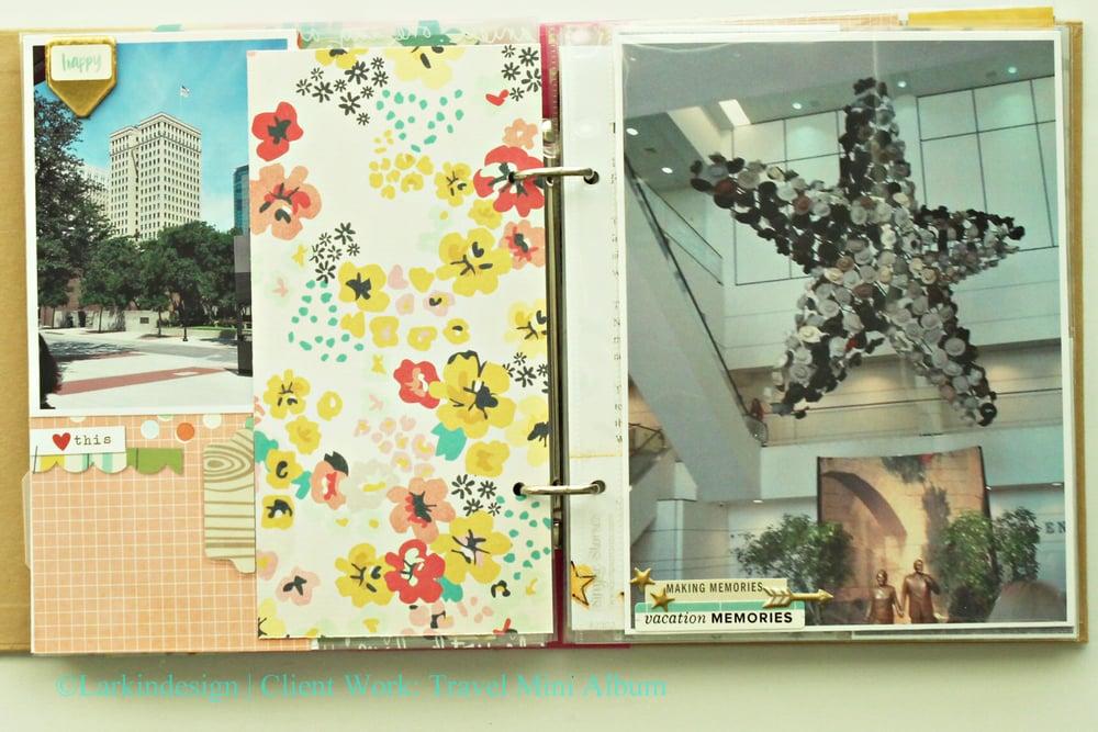 Travel Mini Album Summer 2015