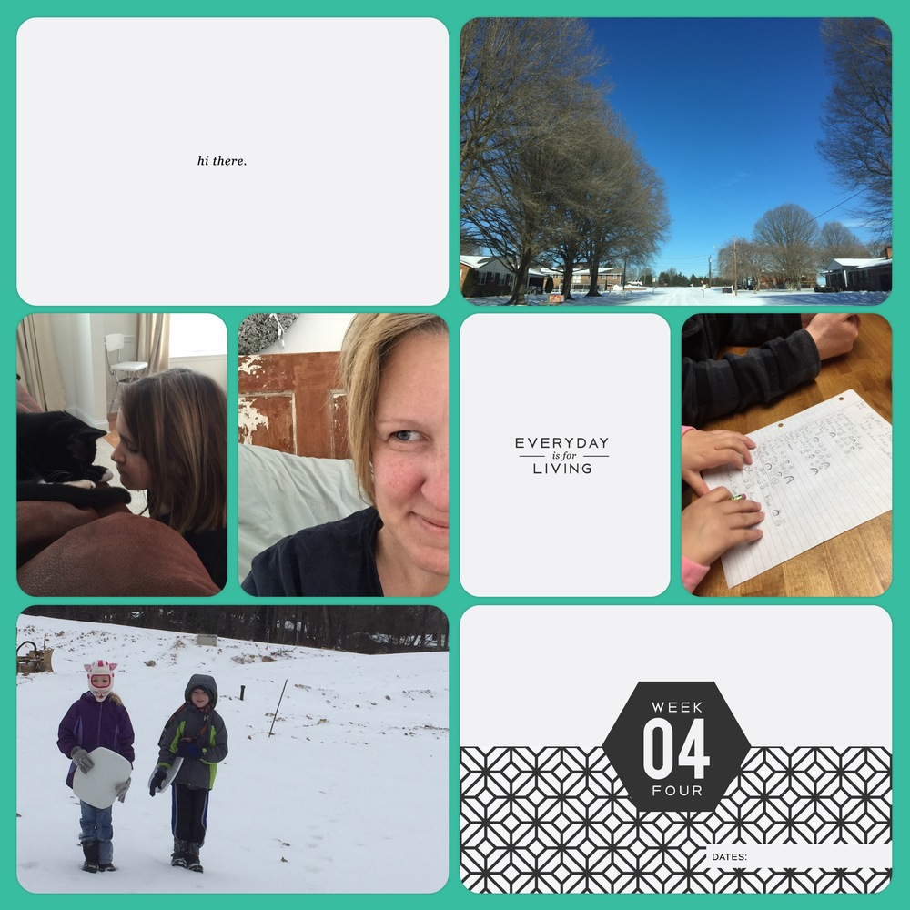 Project Life 2016 Week 4