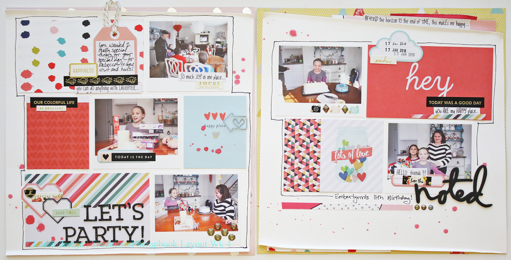 Traditional Layout Week 4
