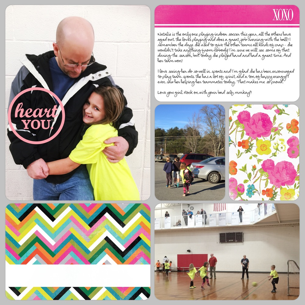 Project Life 2016 Week 5 Layout 2