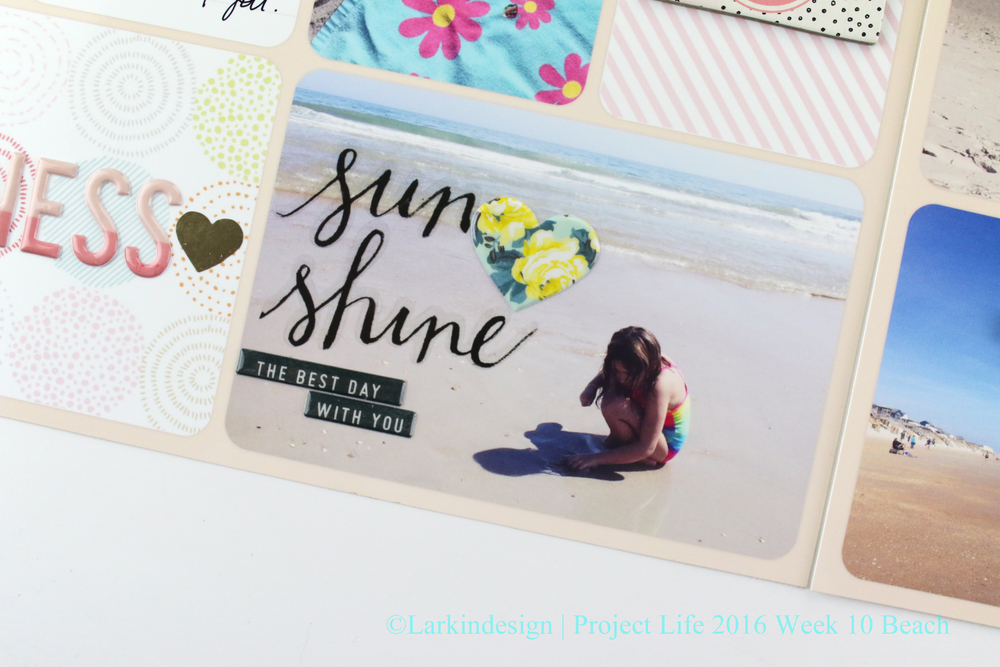 Project Life 2016 Week 10 Beach