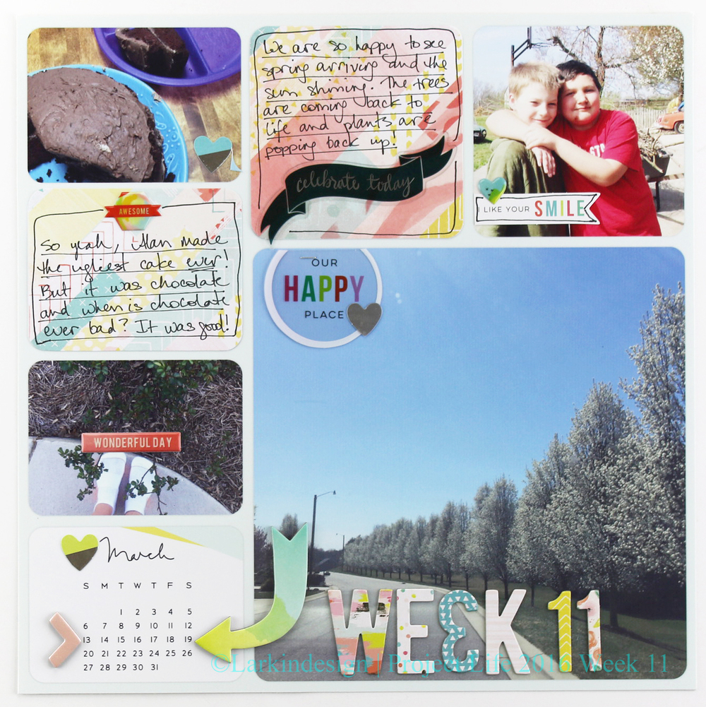 Project Life 2016 Week 11