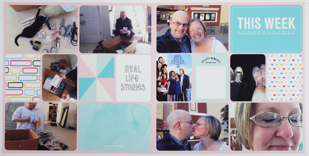 Project Life 2016 Week 12