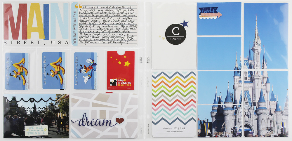 Disney Album Layout 03
