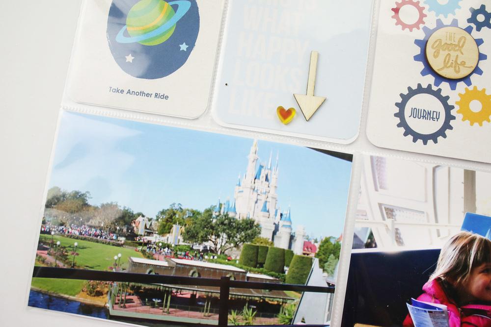 Disney Project Life Layout 5