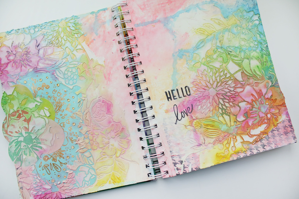 Art Journal No 03 | Hello Love