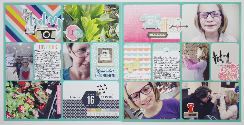 Project Life 2016 Week 16 | Gossamer Blue Kits!