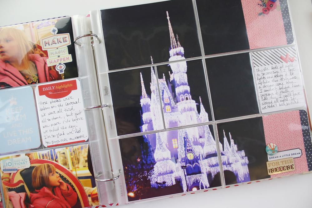 Disney Project Life Layout 09