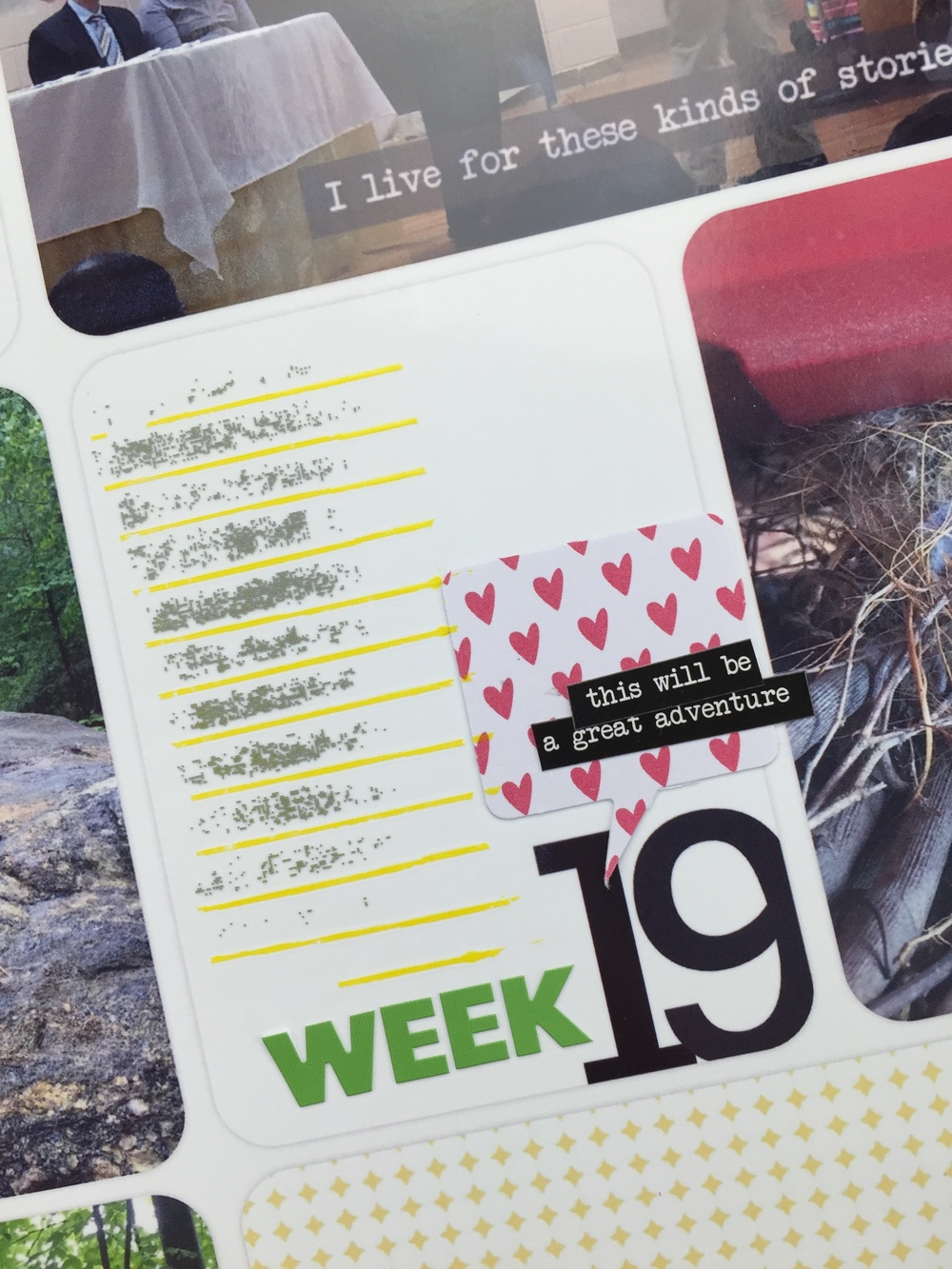 Project Life 2016 Week 19