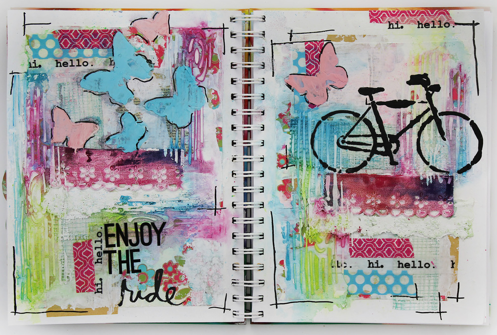 Art Journal 06 Enjoy the Ride