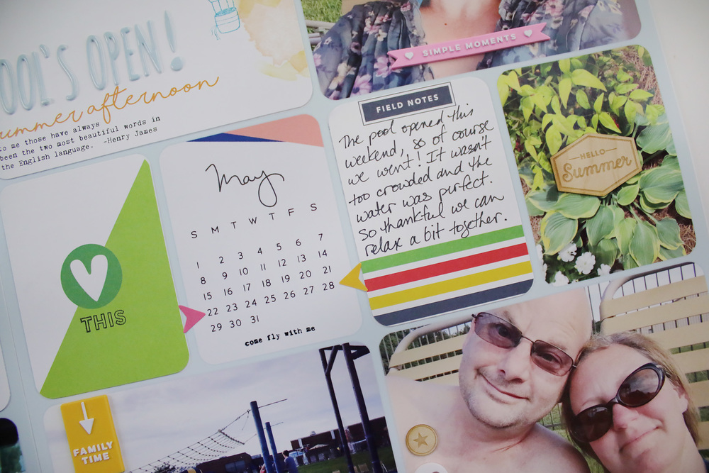 Project Life 2016 Week 21
