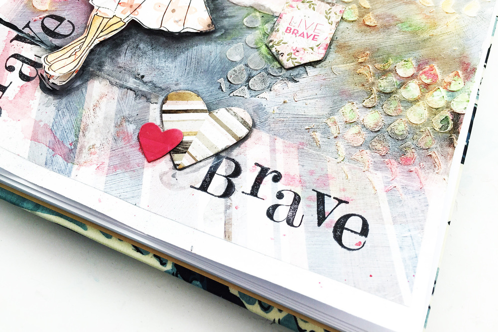 Art Journal On Being Brave