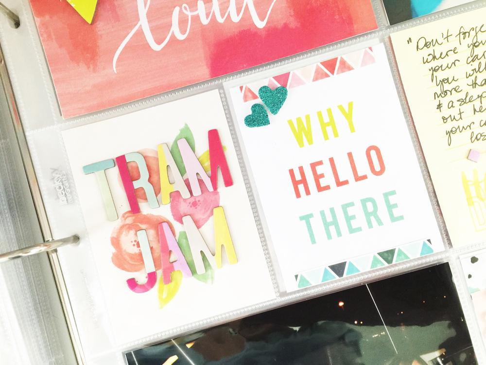 Disney Epcot Tram Jam