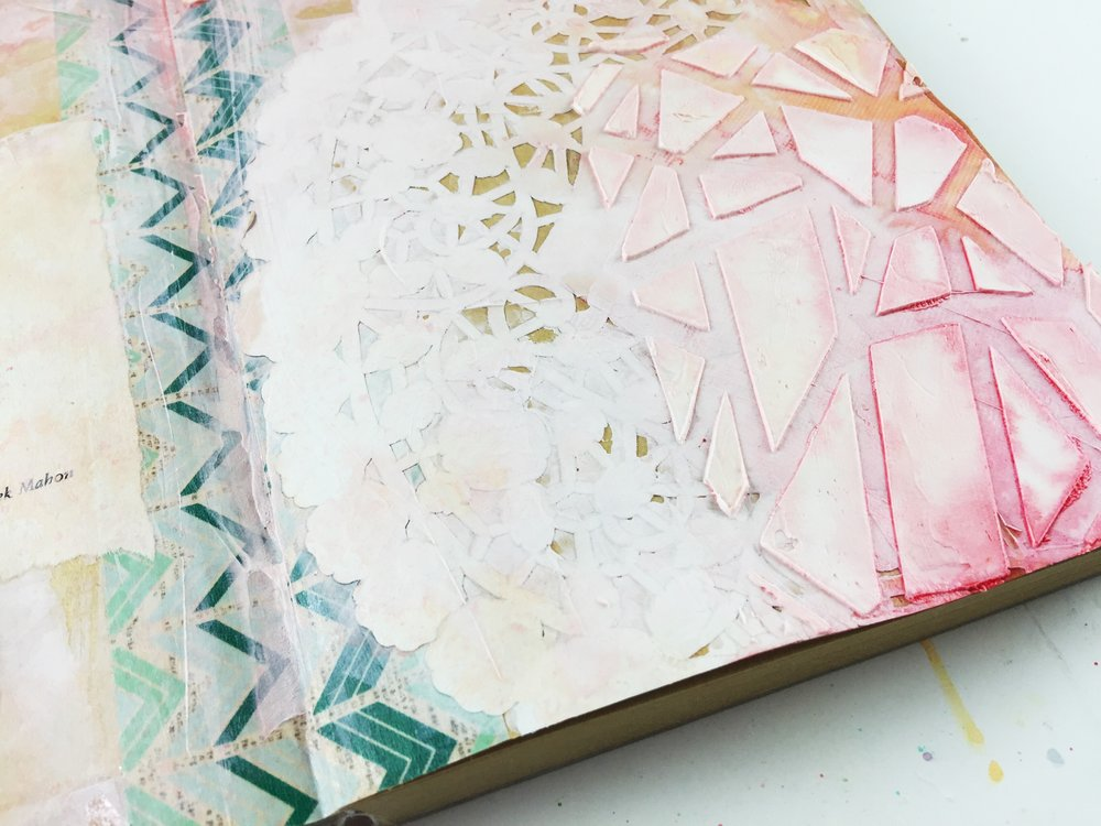 Art Journal Vol 03 Layout 01 I Rise