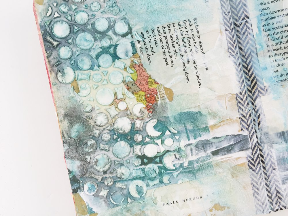 Art Journal 03 Layout 02 | Past