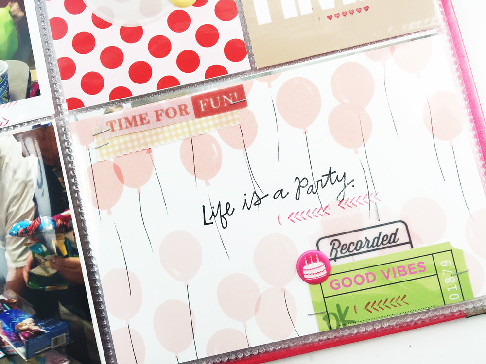 Larkindesign Theresa Moxley | TBT Project Life 2014 Week 32
