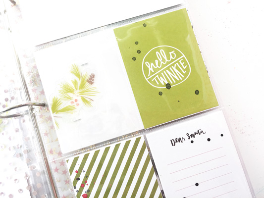 {December Daily 2016} Creating the Page Protectors
