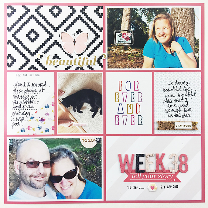 Larkindesign Project Life 2016 | Week 38