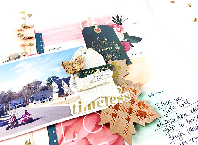 Larkindesign {TImeless Love} A Traditional Layout Collaboration with Tori Bissell
