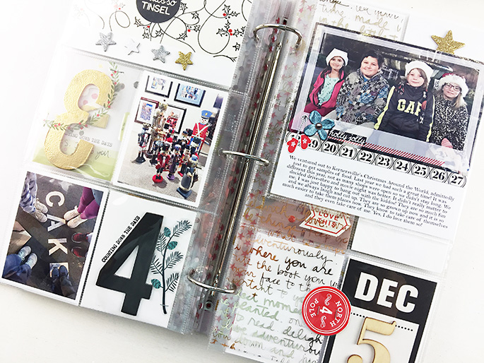 Larkindesign {December Daily 2016} December 3 & 4