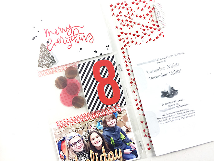 Larkindesign {December Daily 2016} December 8 & 9 and Finishing December 1!