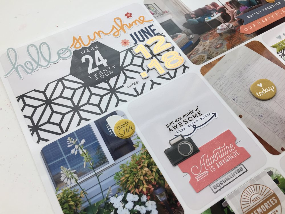 Memory Keeping  | Project Life | December Albums | Art Journaling