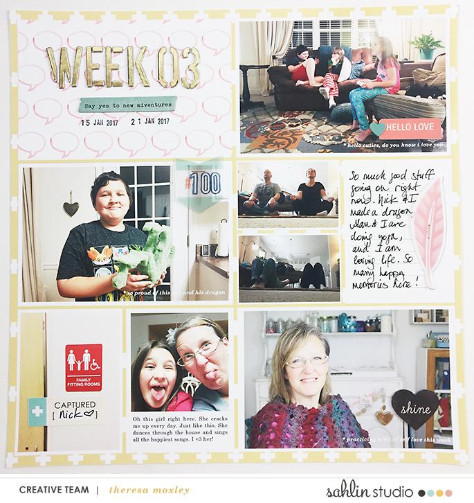 Larkindesign Theresa Moxley Project Life 2017 Week 03